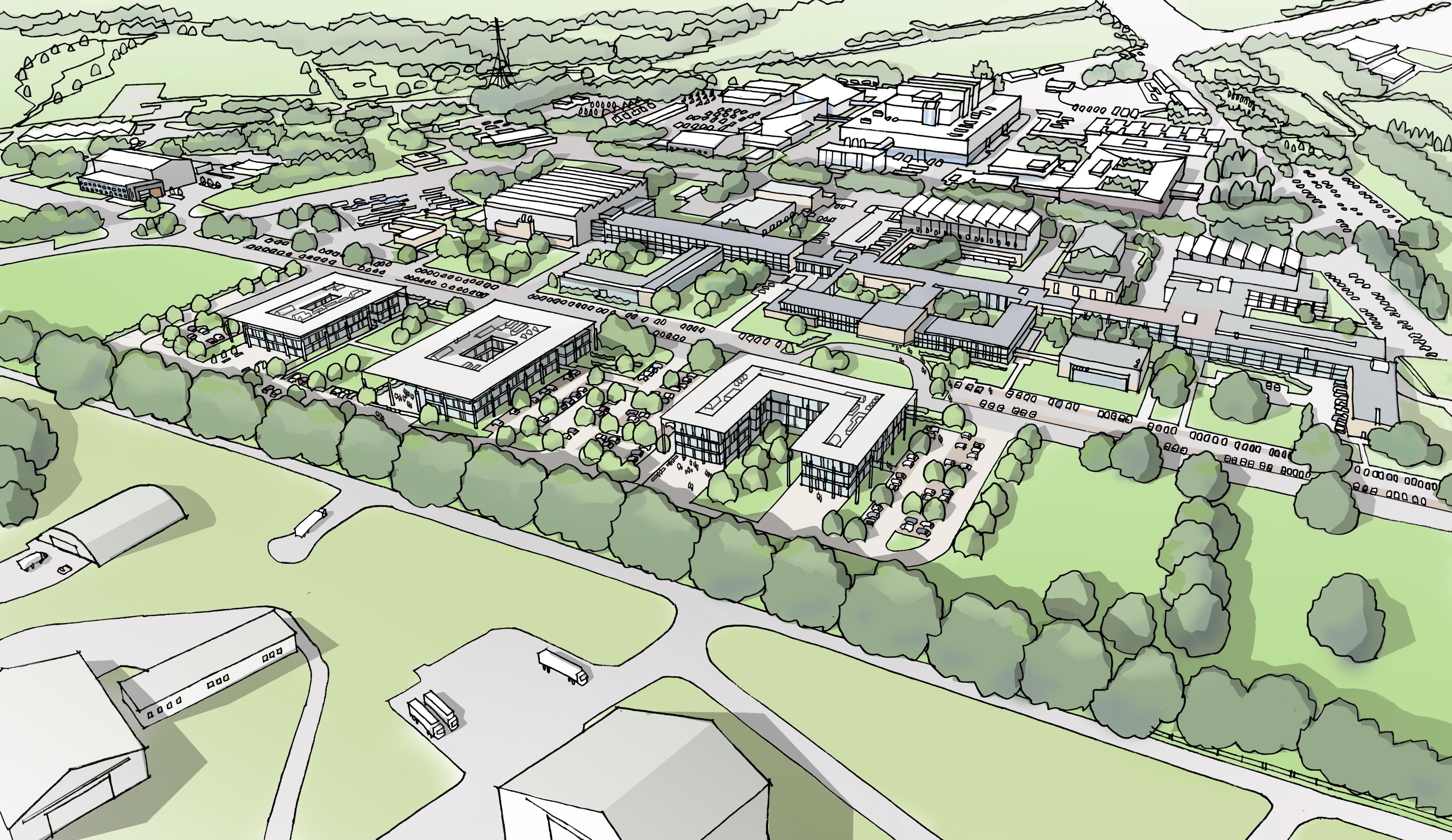 Culham Aerial View