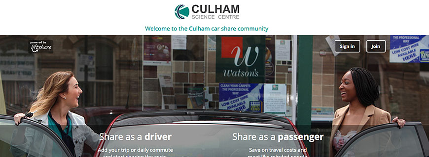 Introducing the new look Culham Car Share