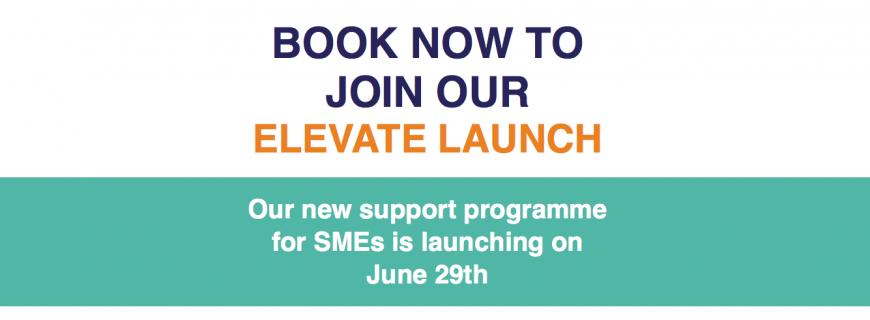 Invitation to Elevate Launch Event