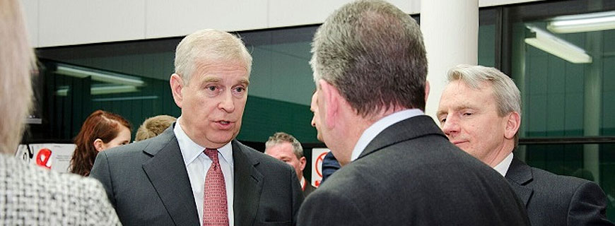 Duke of York Sees Energy Revolution in the Making at Culham Science Centre