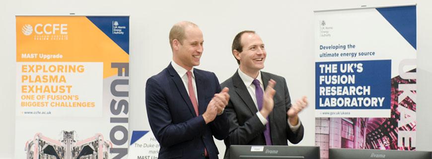 Duke of Cambridge's Visit Marks End of MAST Upgrade Construction