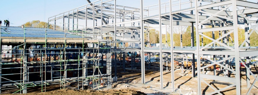 New OAS Training Facility Advancing at Culham Science Centre