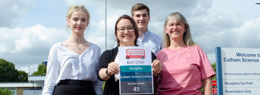 New bus service for Culham Science Centre