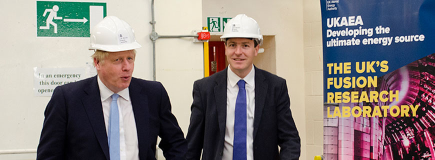 Prime Minister hails 'world-leading' fusion research at Culham Science Centre